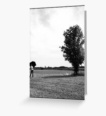 Parallel Nature Greeting Card