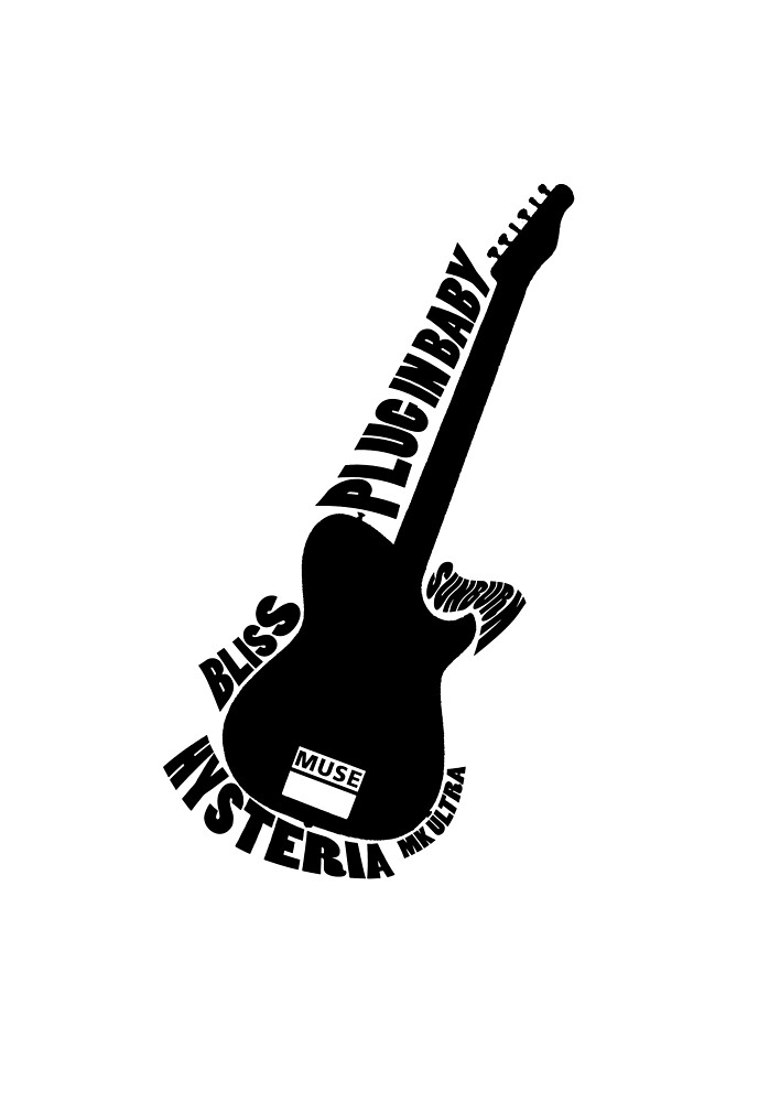 MUSE Guitar by skyflamable