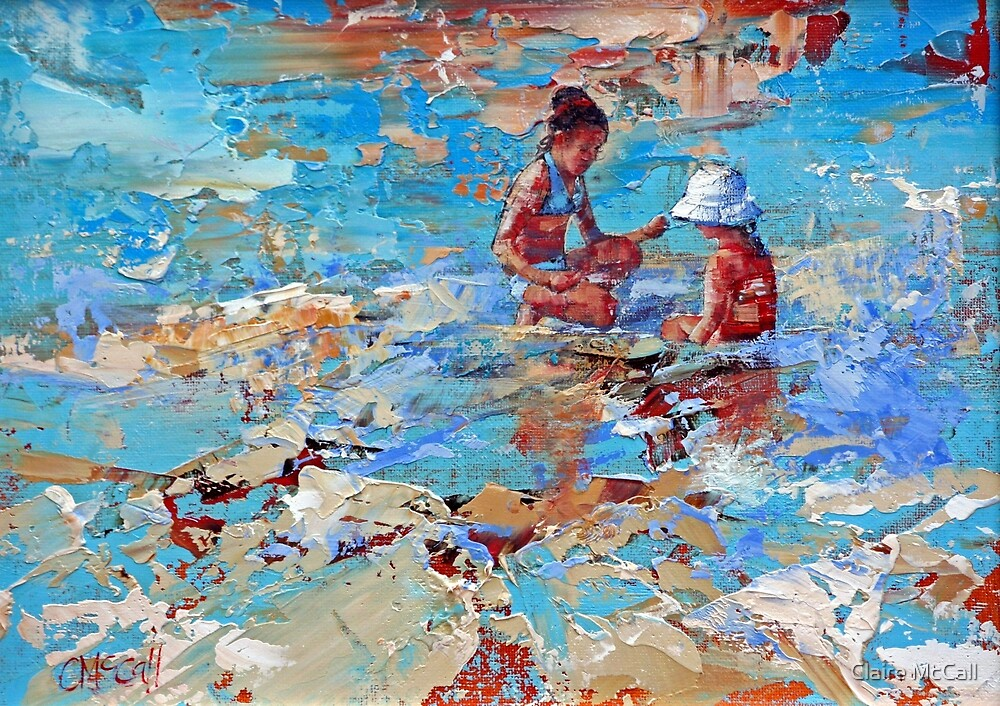 Playing In The Shallows by Claire McCall