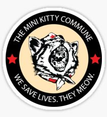 Commscat Fury - Patch Sticker