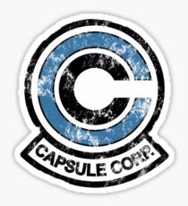 Capsule Corp. abimé Sticker