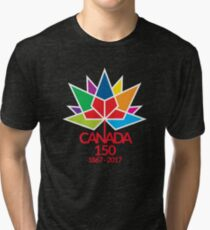 Canada Day Celebrating 150 Years Tri-blend T-Shirt