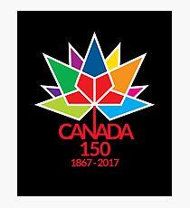 Canada Day Celebrating 150 Years Photographic Print