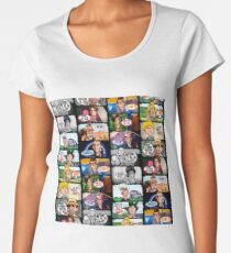 Faces of Who Women's Premium T-Shirt