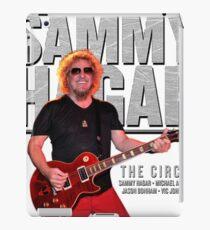 sammy hagar summer tour 2017 iPad Case/Skin
