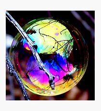 Bubble Reflections Photographic Print