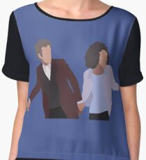 I'm from a planet like everybody else. Chiffon Top