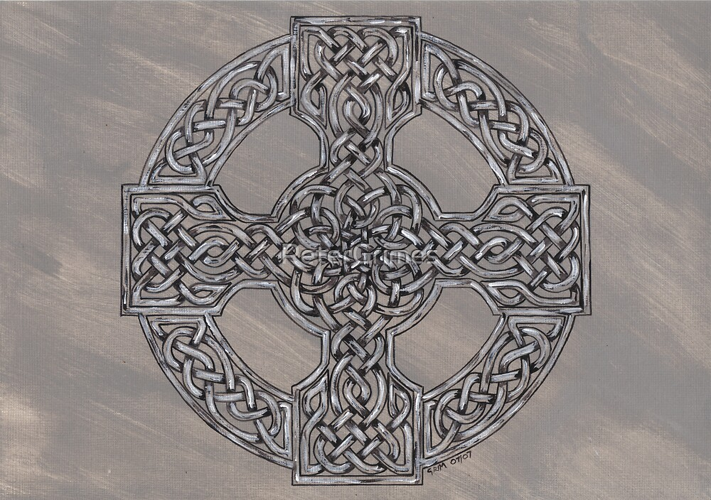 Grey Wheeled Cross by PeterGrimes
