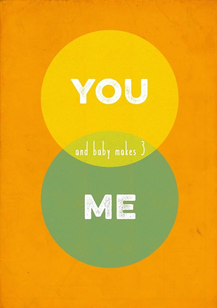 You, Me & baby makes 3 by kekekiko