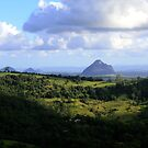 Glass House Mountains Queensland by John Hansen