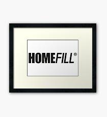 AD - HOMEFILL Framed Print