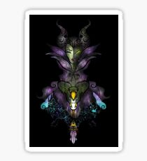 Stained Glass Evil: Queen #2 Sticker