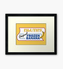AD - Bluth's Original Frozen Banana Framed Print