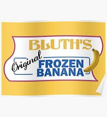 AD - Bluth's Original Frozen Banana Poster