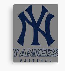 New York Yankees Baseball Canvas Print
