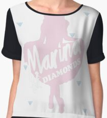 Marina and the diamonds Women's Chiffon Top