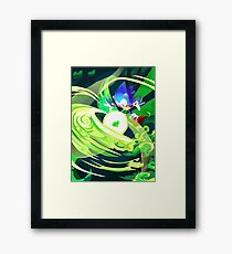 Sonic cd Framed Print