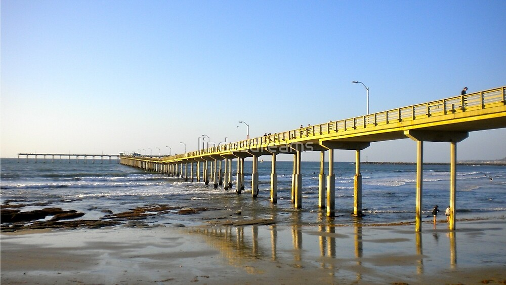 The Pier at Ocean Beach by lindasdreams