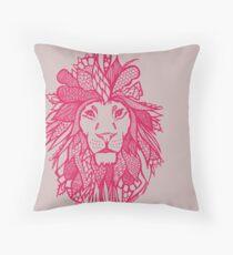Liiion_Pink Throw Pillow