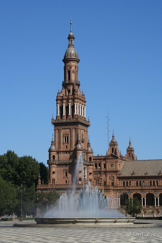 Plaza d'España, Sevilla by Allen Lucas