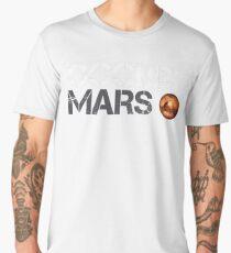 Occupy Mars White Men's Premium T-Shirt