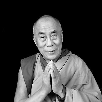 Dalai Lama by closeddoor
