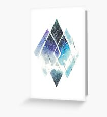 Diamond in Space Greeting Card