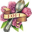 Nope Spoon by zjbickel