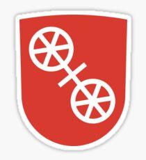 Wappen von Mainz, Deutschland Sticker