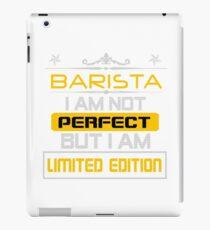 BARISTA iPad Case/Skin
