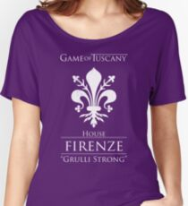Game of Tuscany - Firenze Women's Relaxed Fit T-Shirt