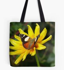 Yellow Admiral Butterfly - NZ Tote Bag