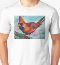 Photorealistic Cardinal Drawing  T-Shirt
