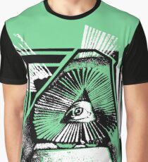 Triangular Manslaughter of The Mind Graphic T-Shirt