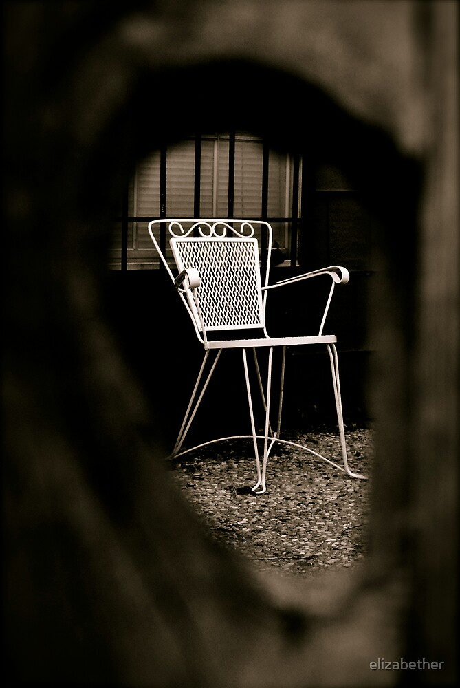 lawn chair by elizabether