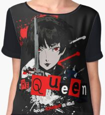 Queen - Persona 5 Women's Chiffon Top