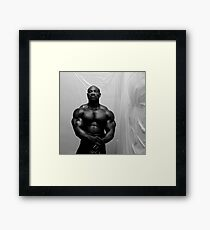 Muscle Show #3 Framed Print