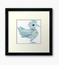 Robot Bird Framed Print