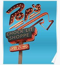Pop's Chock'lit Shoppe Riverdale Poster