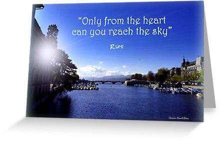 Zurich and Rumi by Charmiene Maxwell-Batten