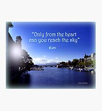 Zurich and Rumi Photographic Print