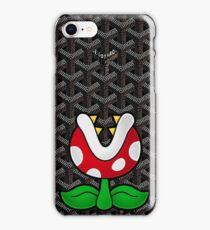 Goyard Piranha Plant iPhone Case/Skin