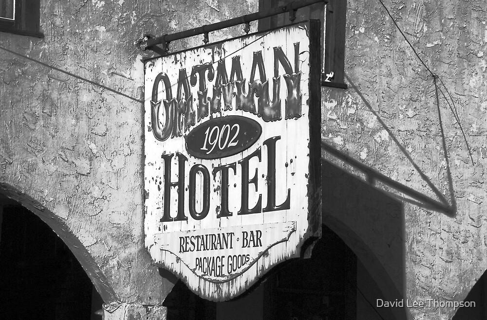 """""""Oatman Hotel 1902"""" by David Lee Thompson"""
