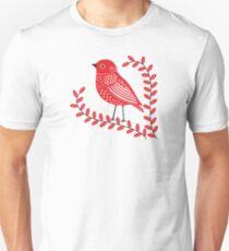 Red Bird Unisex T-Shirt