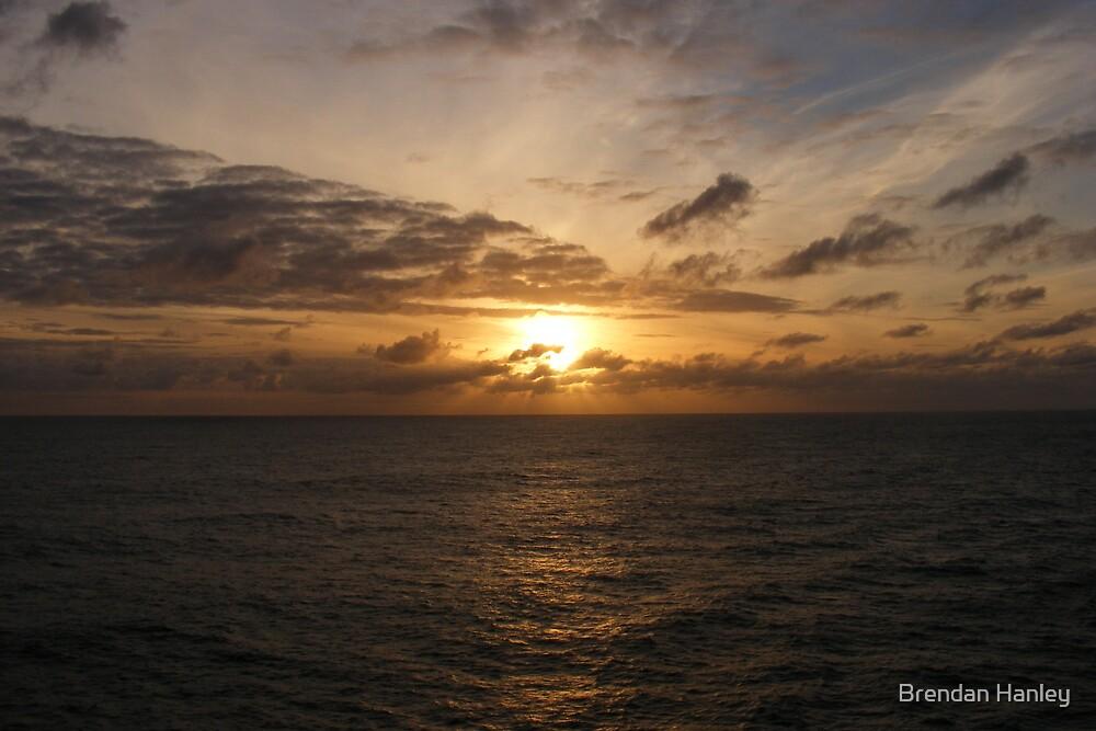 Sunrise over the Tasman Sea by Brendan Hanley