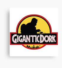 Gigantic Dork Canvas Print