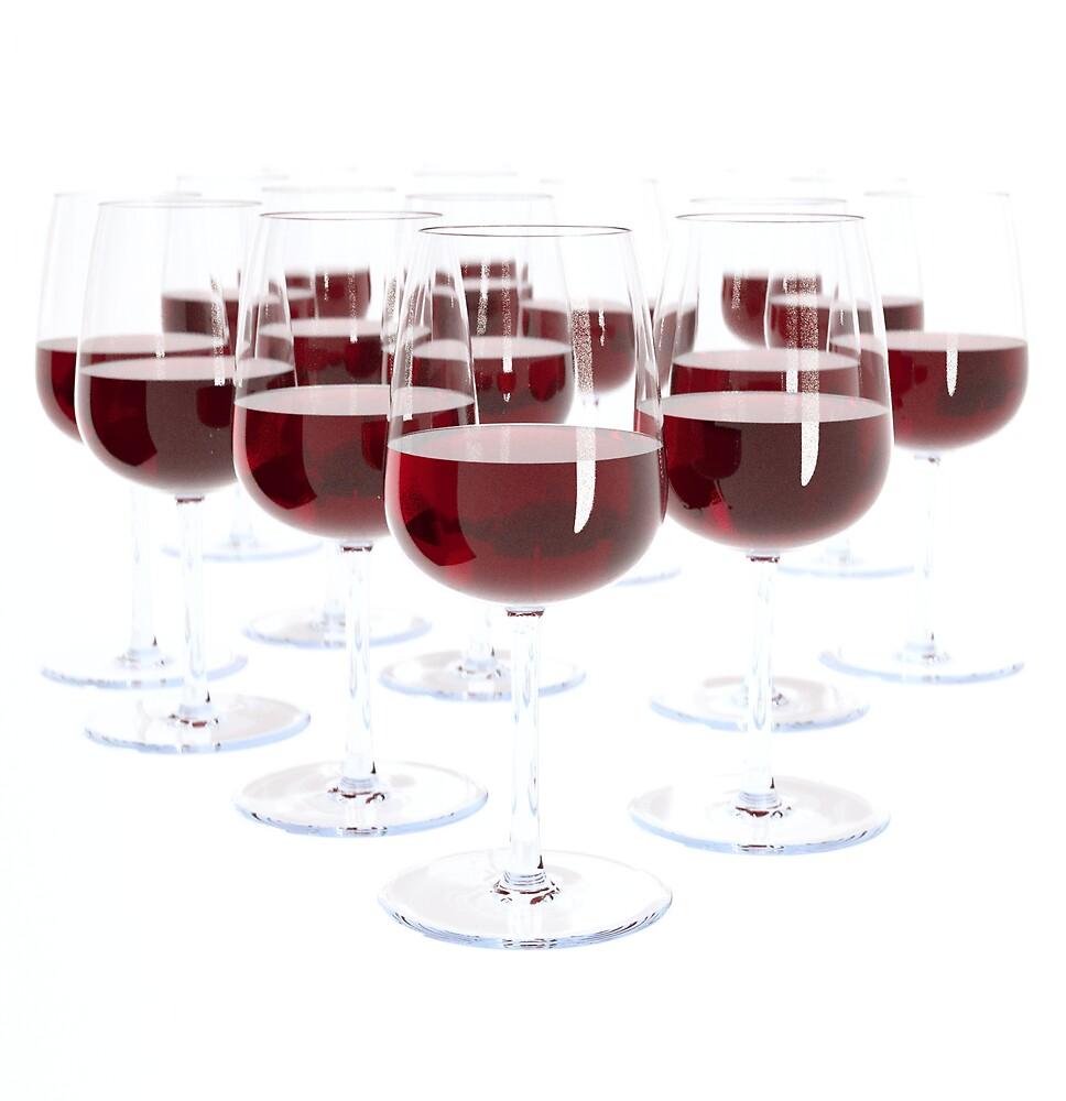 Red Wine by Jaime Ortega