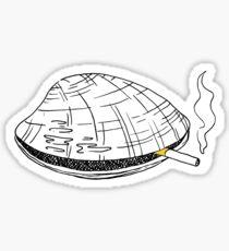 Cigarette Clam Sticker