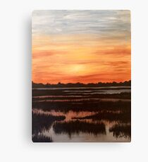 Heaven for a View Canvas Print