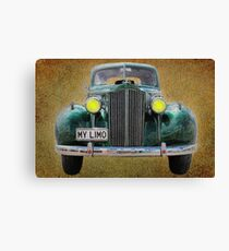 0297 My Limo Canvas Print